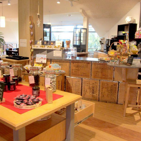 Renner Tee & Café im Obergeschoss