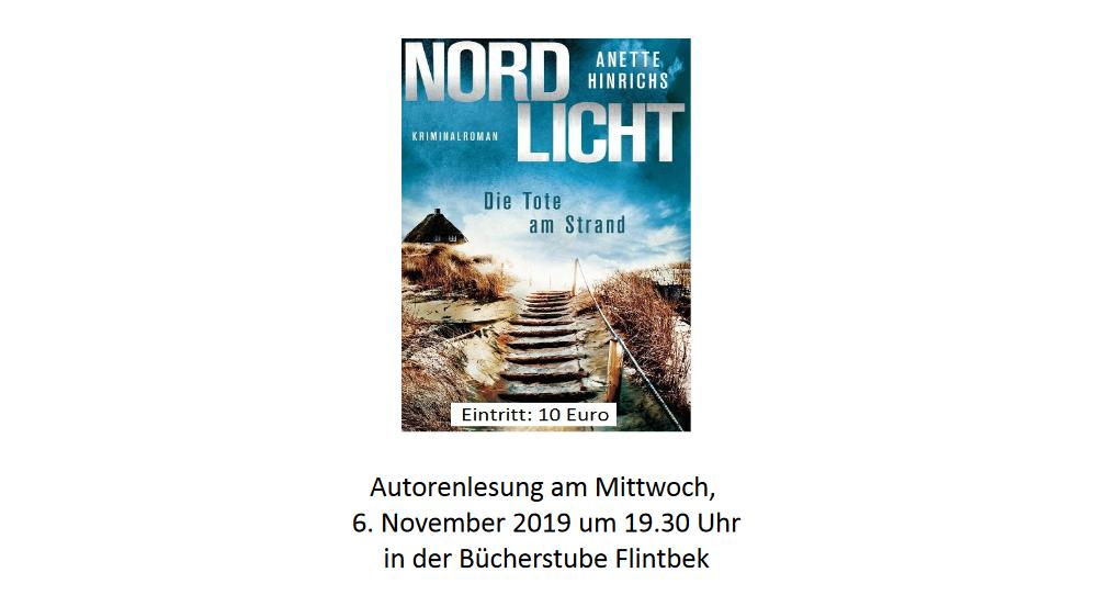 Lesung Anette Hinrichs