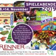 <strong>Spieleabende</strong> 2019 am <strong>8. + 14. November</strong>