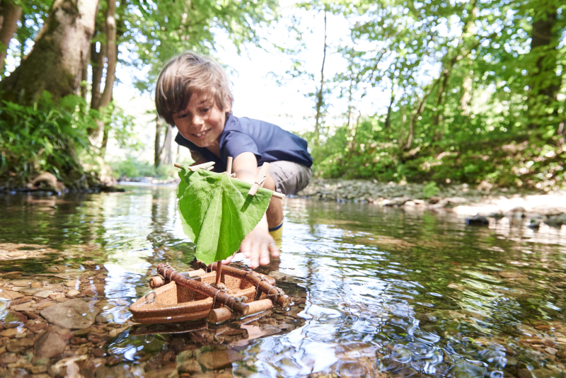 Terra Kids Korkboot Bausatz